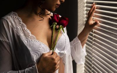 Ensaio Boudoir da Noiva: Um registro de Sensualidade e Delicadeza.