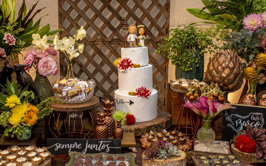Dicas para escolher o topo de bolo ideal para o seu casamento!